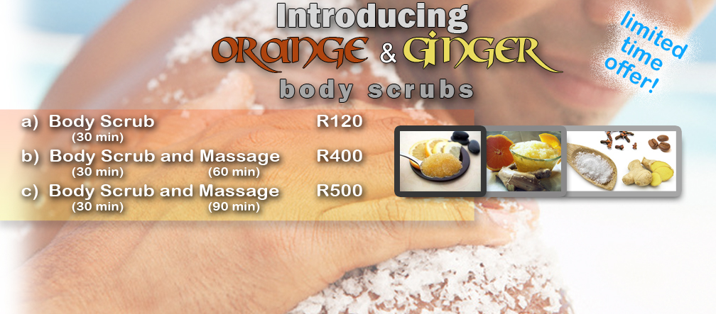 Limited time introduction offer on Body Scrubs